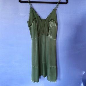 Emerald Green Slip Dress by H&M